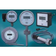 Digital gauges with power supply