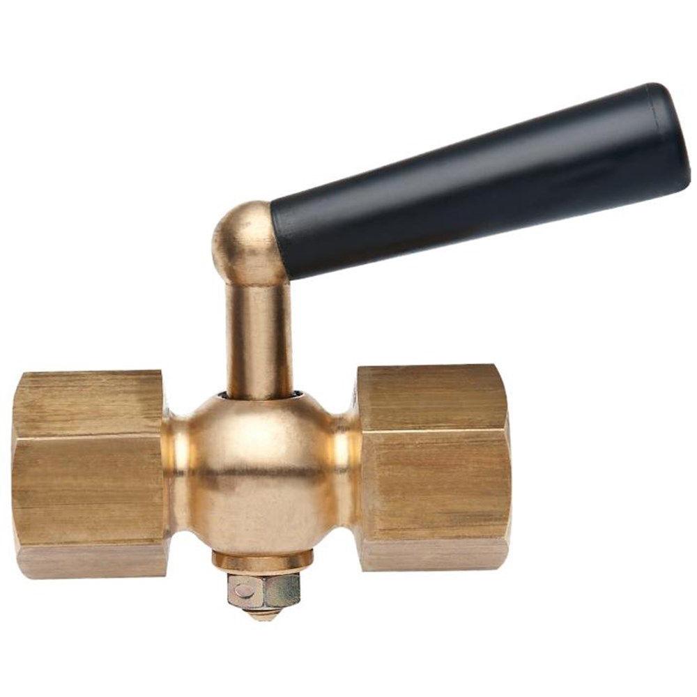 Pressure gauge tap DIN 1621