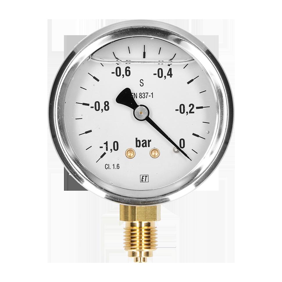 Diameter: 63 mm bar/PSI