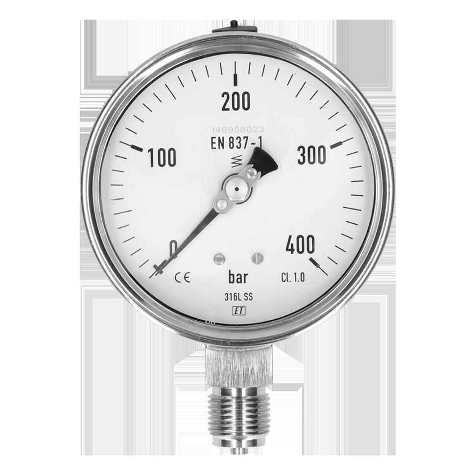 Diameter: 100 mm class 1.0