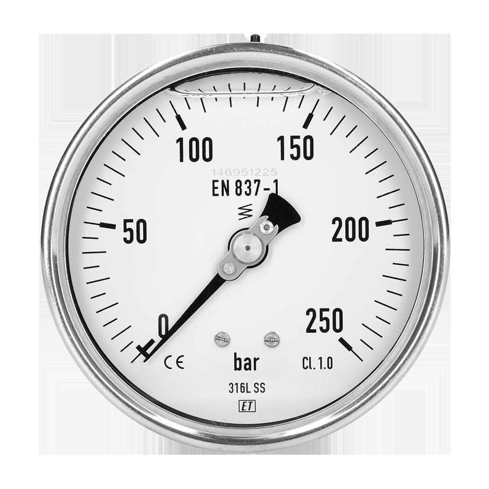 Diameter: 100 mm klasse 1.0