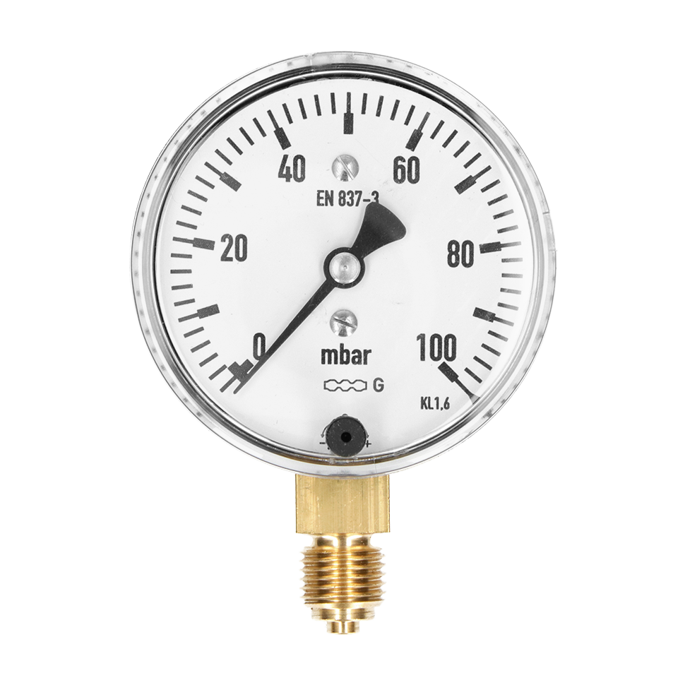 Low pressure gauges (in millibar)