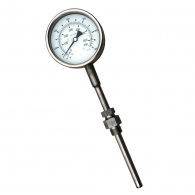Analog diesel exhaust thermometer