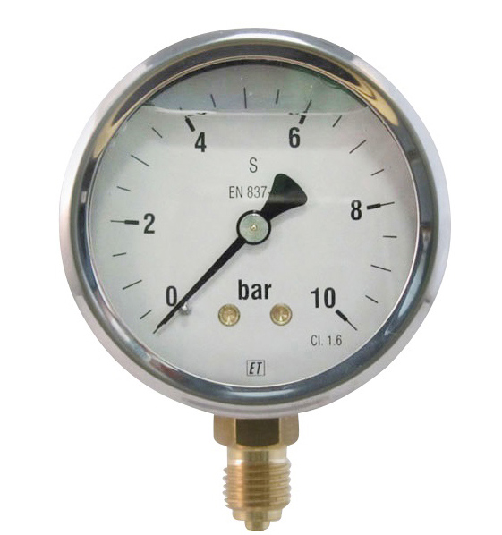 Pressure gauges stock