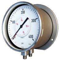PBB Duplex gauge with double measuring system