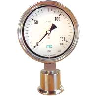 PBR Sanitary gauge for homogenisers
