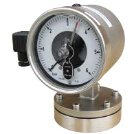 Gauges with chemical seal