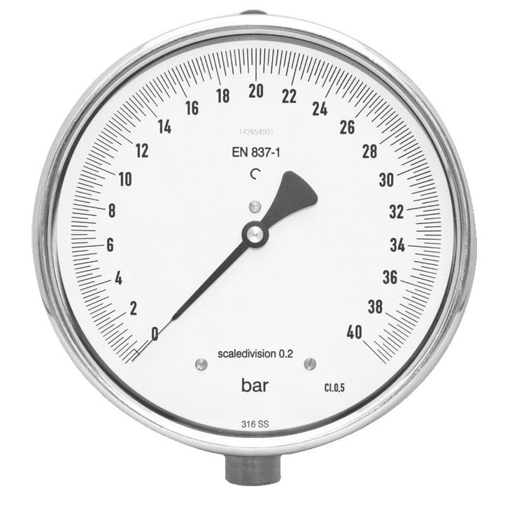 Precision pressure gauges